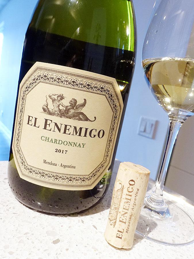 El Enemigo Chardonnay 2017 (90 pts)