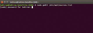 mengganti repository ubuntu
