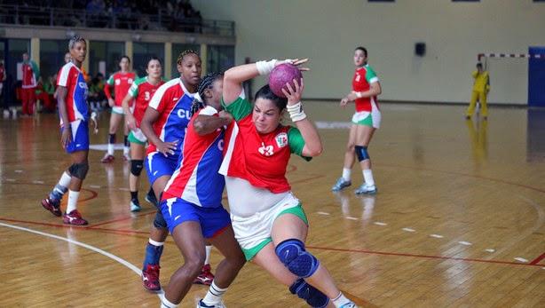 Euskadi - Cuba amistoso de handball femenino | Mundo Handball