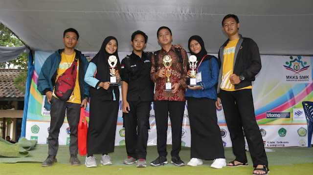 Borong 10 Piala, LKS , FLSN, dan O2SN SMK Yasmida Ambarawa Tahun 2019