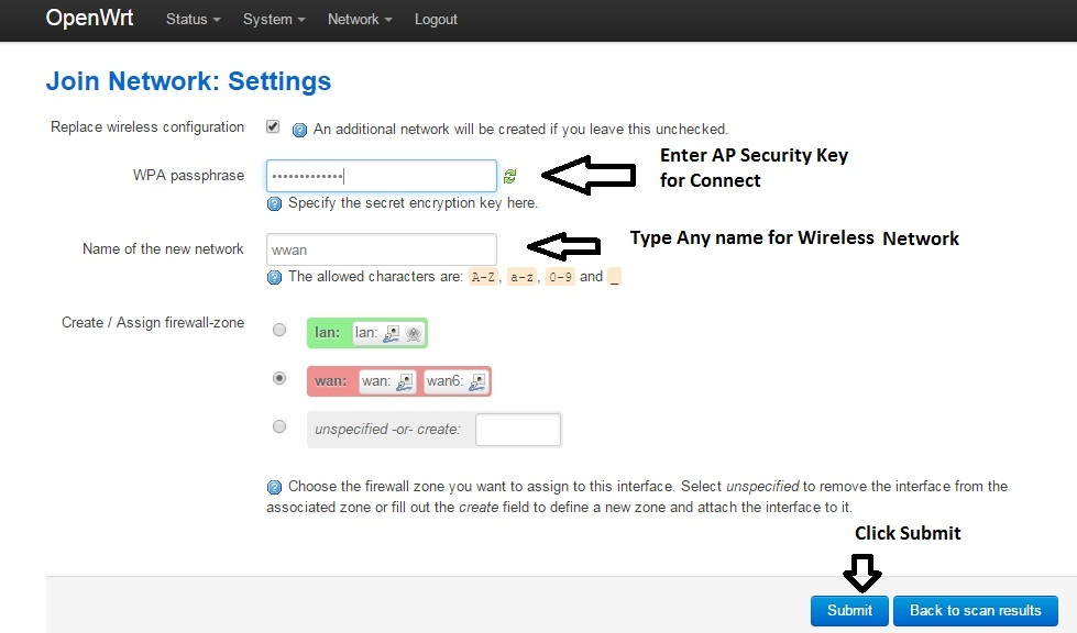 Open Wrt Configuration in WISP mode with AP Step to Step - Tech Help