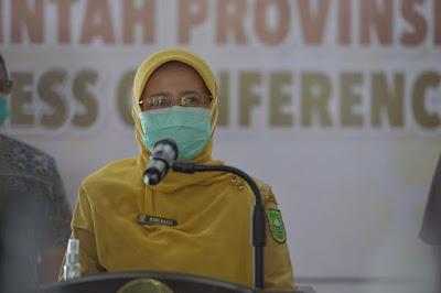 Update Covid-19 Riau Pasien Meninggal Dunia dan positif Masih Bertambah