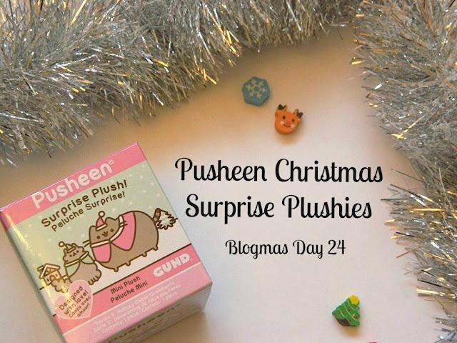 Pusheen Christmas Surprise Plushies