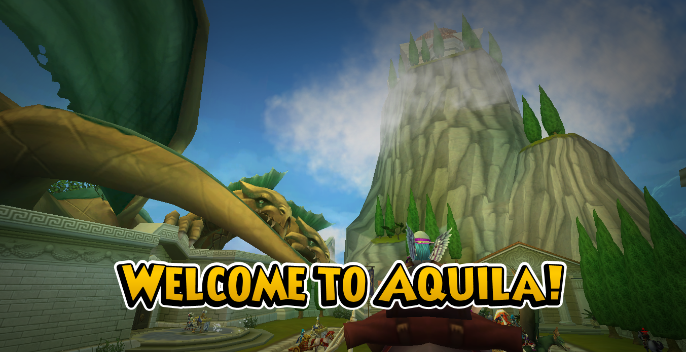 Wizard101 Aquila Expansion