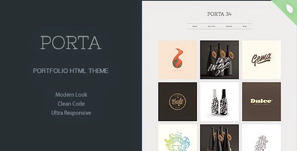 PORTA - Portfolio Theme