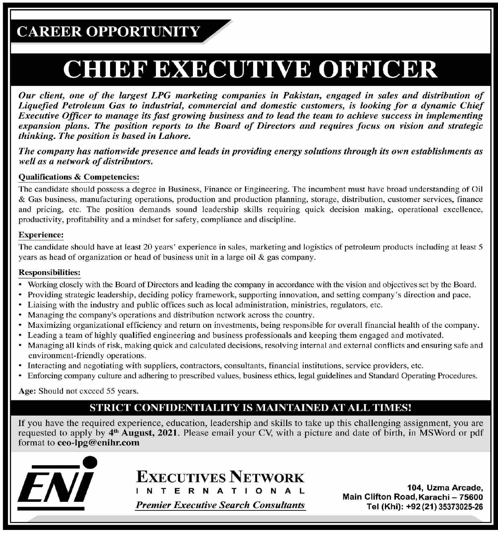 Jobs in Executive Network International