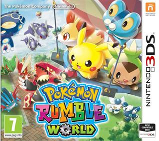 Pokémon Rumble World, 3DS, Español, Mega, Mediafire