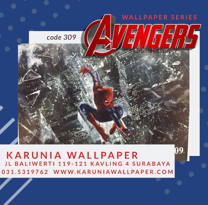 jual Wallpaper dinding avengers spiderman'/></div>  suki<br /> <div class=
