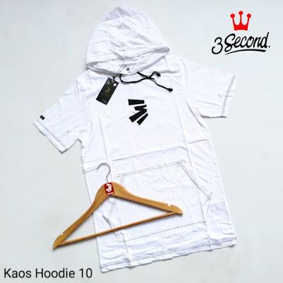 KAOS HOODIE 3SECOND KH10