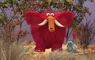Dorothy imagines Elmo as an elephant. Sesame Street Elmo's World Teeth Tickle Me Land
