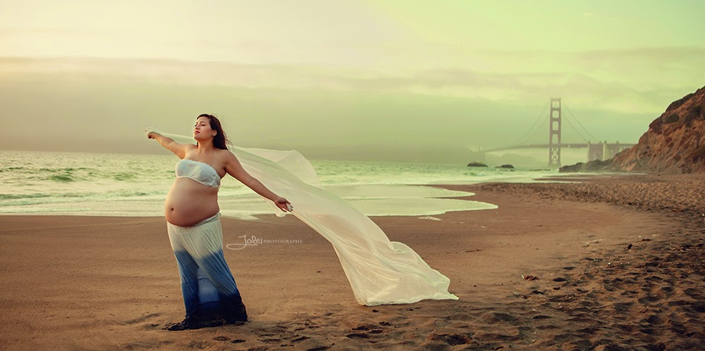 Maternity Session In Baker Beach San Francisco Ca