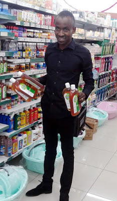 "SA pastor who made members drink Dettol spotted buying more bottles, claims he's been receiving ""amazing testimony"" (photo)"