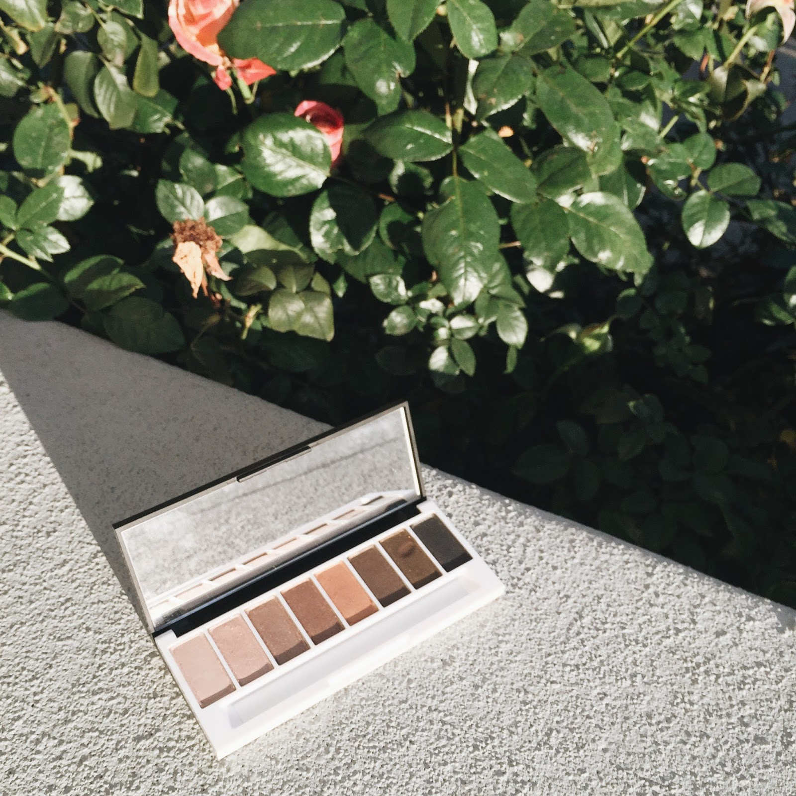 lily lolo laid bare eye palette review natural eyeshadows organic hellolindasau