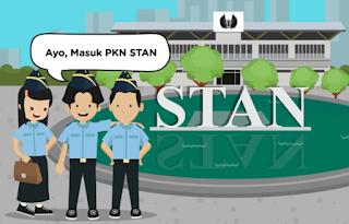 Kuota Penerimaan Mahasiswa Baru PKN STAN Tahun 2021
