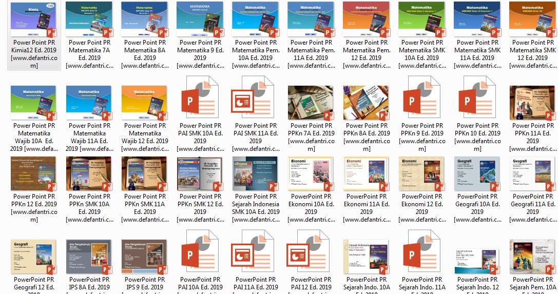Download Media Pembelajaran PowerPoint Kurikulum 2013 Untuk SMP - SMA/SMK Lengkap Semua Mata Pelajaran