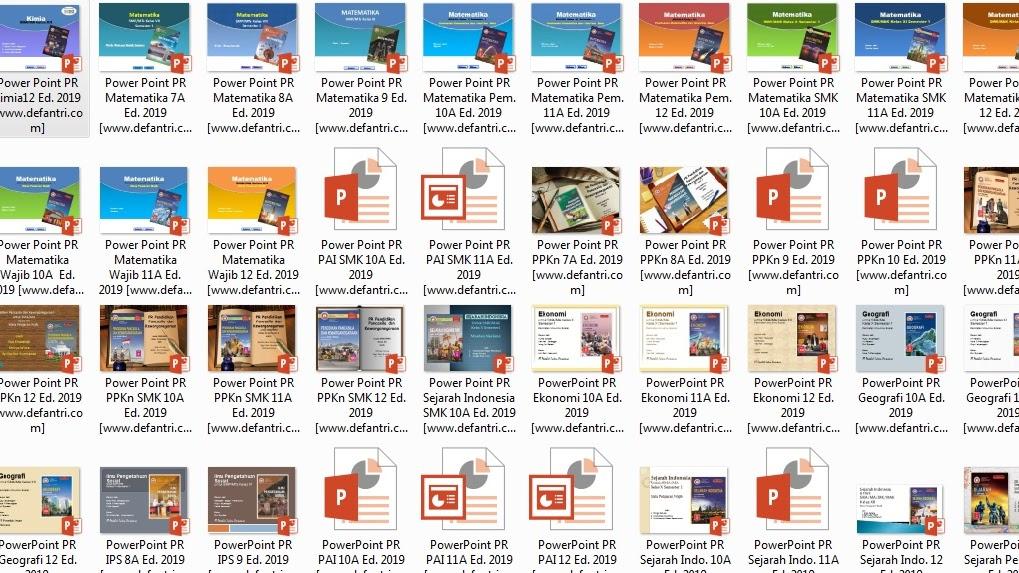 Kumpulan Media Pembelajaran Powerpoint Kurikulum 2013 Untuk Sma Smk Kelas X Xi Dan Xii Semua Mata Pelajaran Defantri Com
