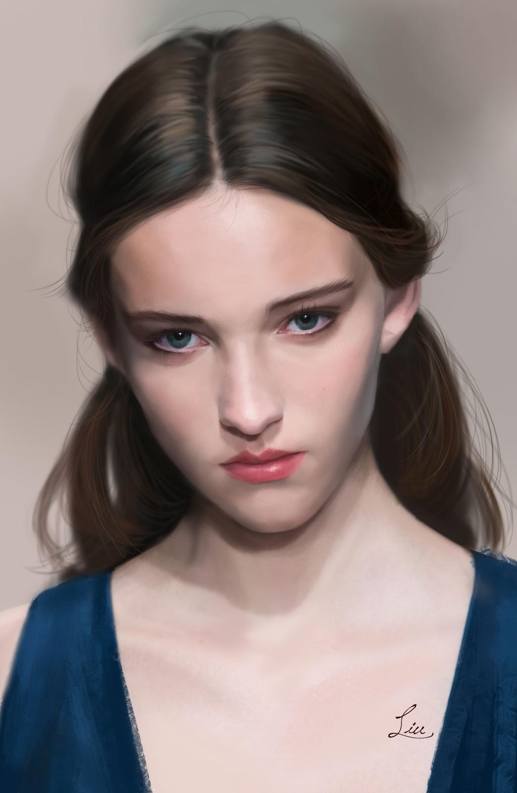 Paintings by Chinese Artist Bingxu Liu