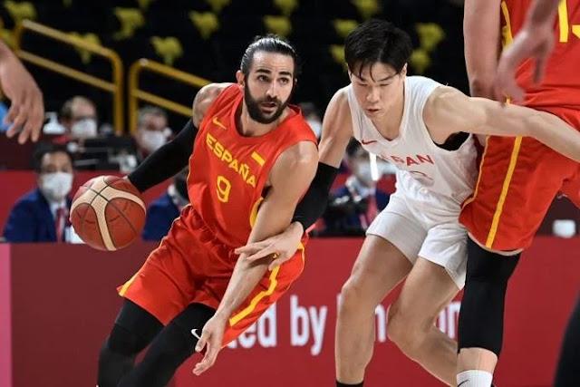 España  supera a Japón 88-77 en debut de  JJOO tokio 20