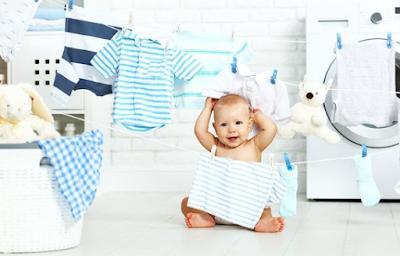 Deterjen Pakaian yang Aman Untuk Bayi