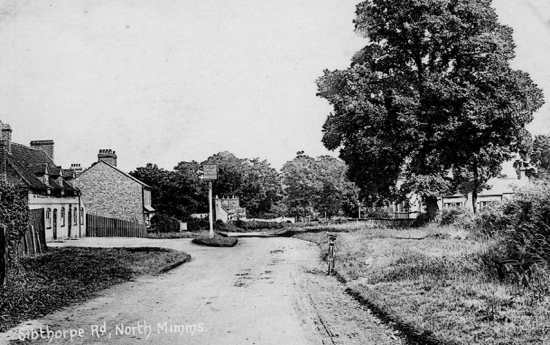 Photograph of The Sibthorpe, Welham Green c1902