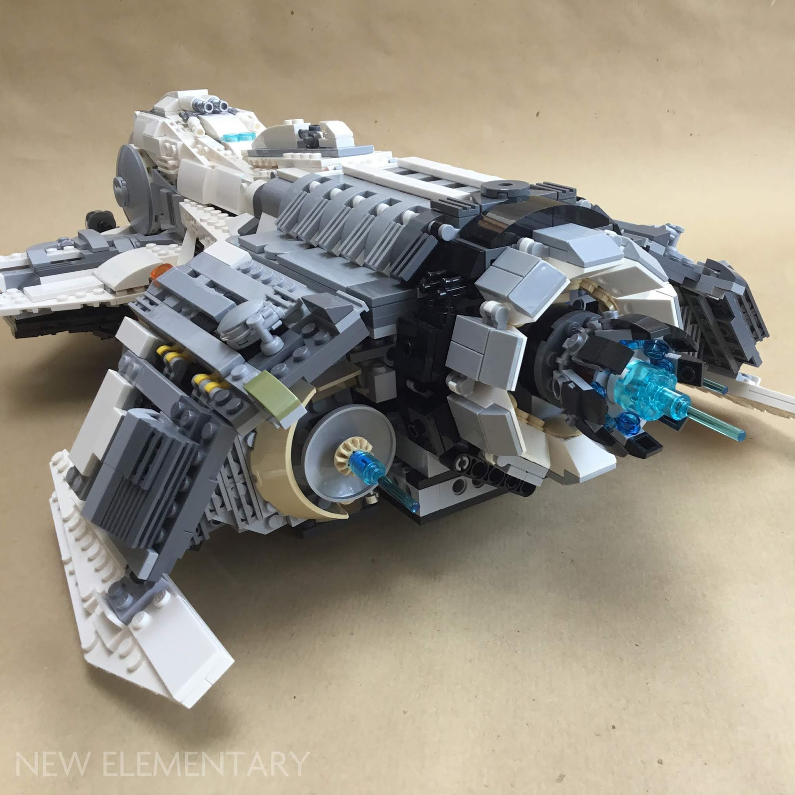 Alt Star Wars: Kev Levell's mothership and fighter | New