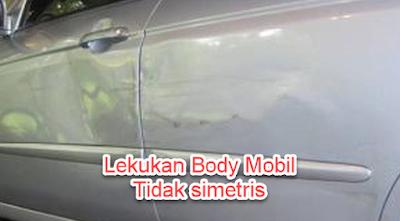 Cek Kesimetrisan lekukan Body Mobil