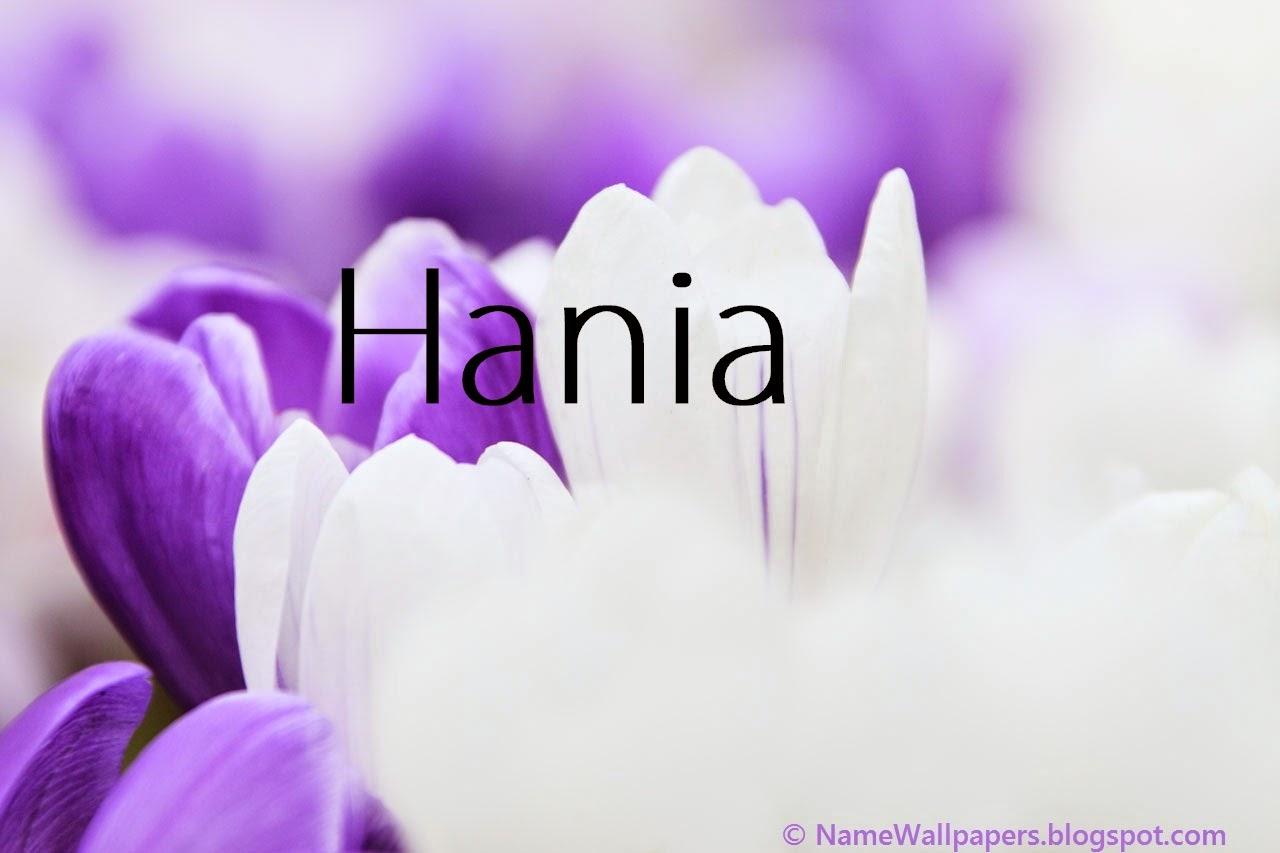 Hania Name Wallpapers Hania ~ Name Wallpaper Urdu Name ...