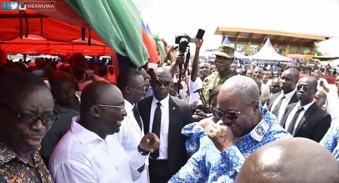 I've not hijacked Bawumia's official residence –  says Mahama