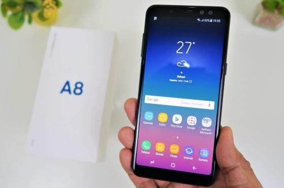 Inilah 15 Point Lebih Kelebihan dan Kekurangan HP Samsung Galaxy A8 2018, Review HP Samsung Galaxy A8 2018