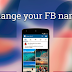 Change Profile Name On Facebook