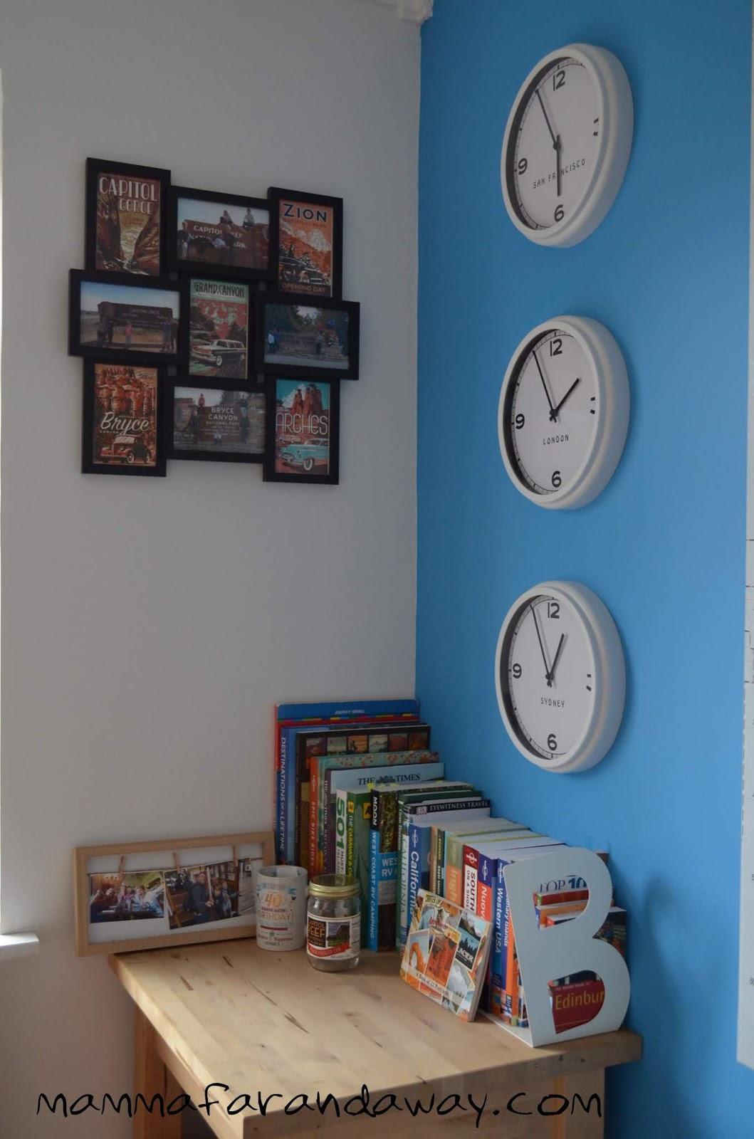 Ikea Stampe Da Muro arredamento a tema viaggi: idee facili ed economiche per