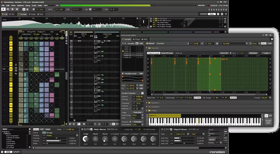 تحميل برنامج Renoise 3.2.1 لتسجيل وتحرير وإنتاج الملفات الصوتية