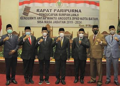 PAW Anggota DPRD Batam Masa Jabatan 2019-2024, Dominggus dan Amri
