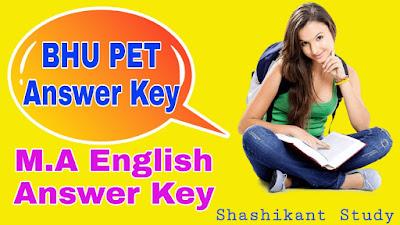 BHU-M.A-English-Answer-key