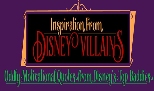 Inspiration from Disney Villains