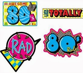 Totally Awesome 80s Party Decorations