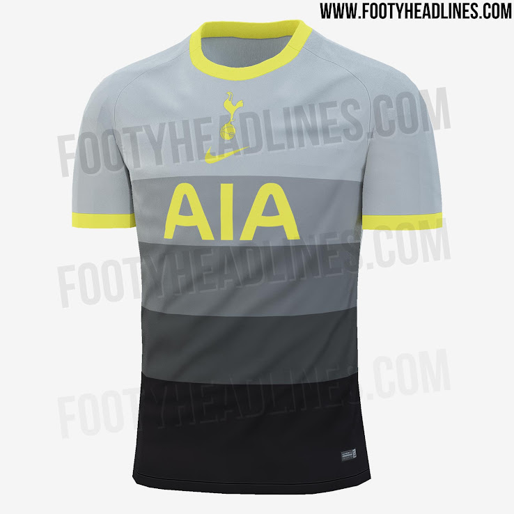 Tottenham Hotspur 20 21 Fourth Kit Leaked New Pictures Footy Headlines