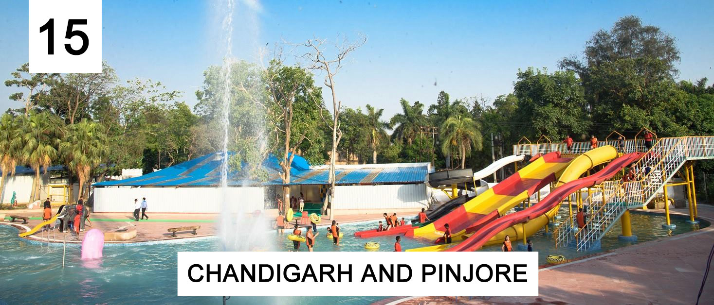 Chandigarh and Pinjore