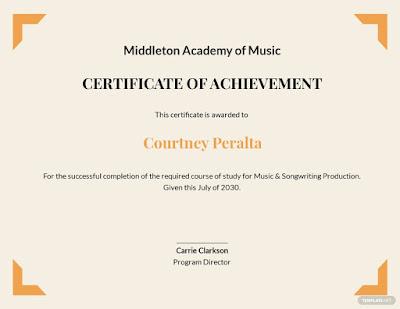 download template sertifikat seminar ms word