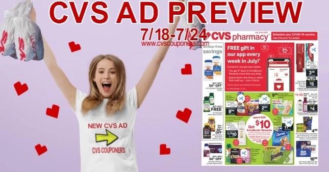 CVS Ad Preview 7/18-7/24