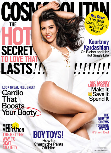 Television Personality, Model., @ Kourtney Kardashian – Cosmopolitan Magazine October 2016
