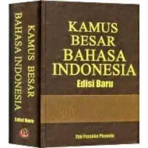 Peran Kamus Bahasa Indonesia Dalam Pendidikan