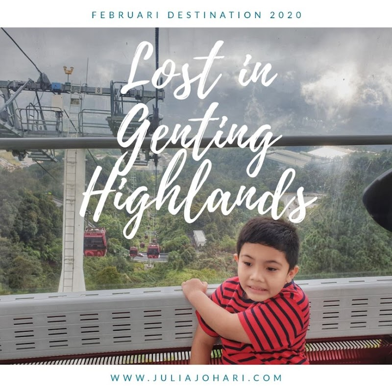 Percutian tak dirancang langsung, jom ke Genting Highlands dan ke Bentong pekena lemang kita!