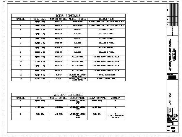Random Guy S Architecture Rga Floor Plan And Schedule