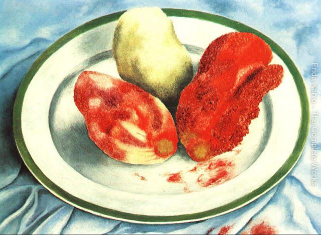 Фрида Кало - Плоды кактуса. 1938