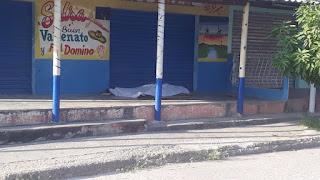 Encuentran una persona muerta frente a billares en Baranoa