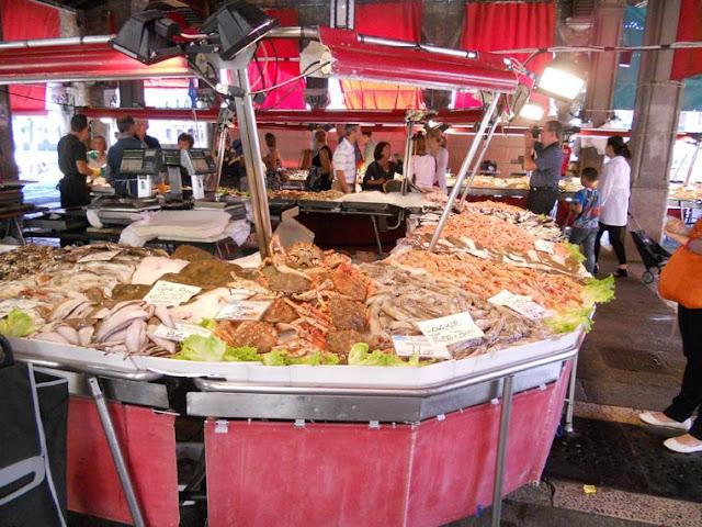 ヴェネツィアの魚市場