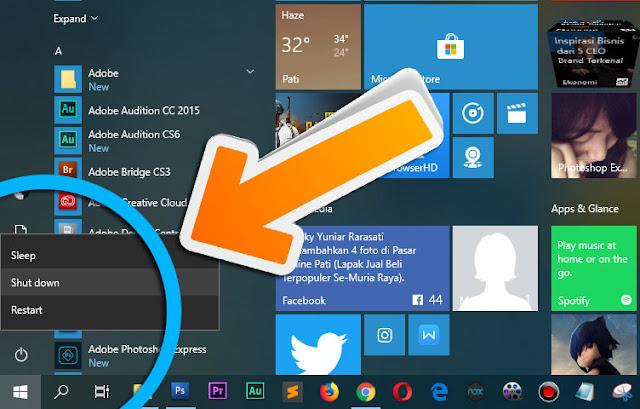Windows 10 tidak Bisa Shutdown & Restart? Begini Caranya!