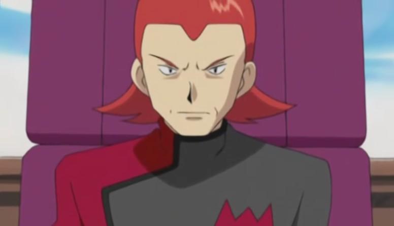 Maxie Equipe Magma Anime Pokémon