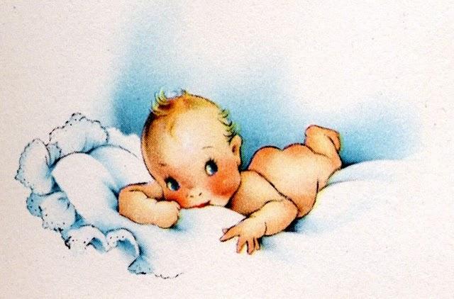 Dibujos Animados De Bebés Recien Nacidos